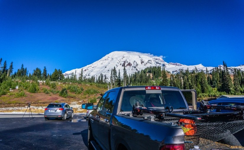 Hiking MT Rainier NP (Nov. 8th-14th, 2016)
