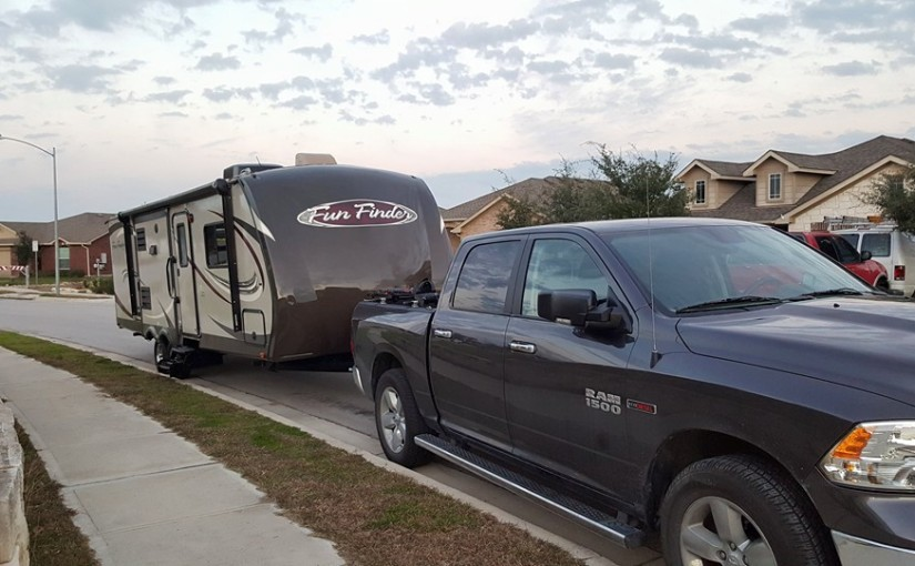How we ended up living in a travel trailer